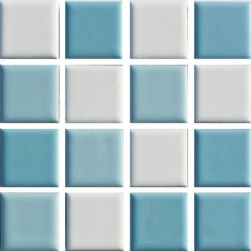 Waxman CB-144 Caribbean - Ceramic Pool Tiles - 10 Sheet Pack